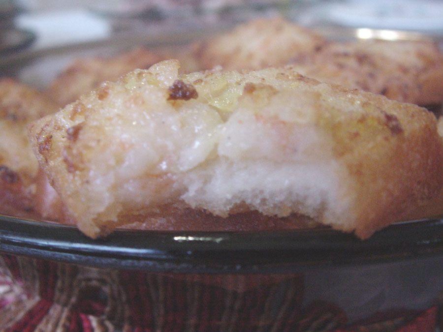 Puffy Prawn Toast