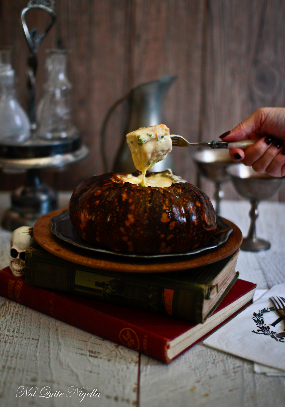 Pumpkin Fondue recipe