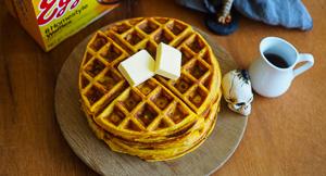 "Pumpkin Spice & Maple Walnut ""Eggos"" Waffles!"