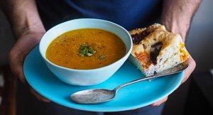 Go Dutch! Dutch Curry & Rice Pumpkin Soup