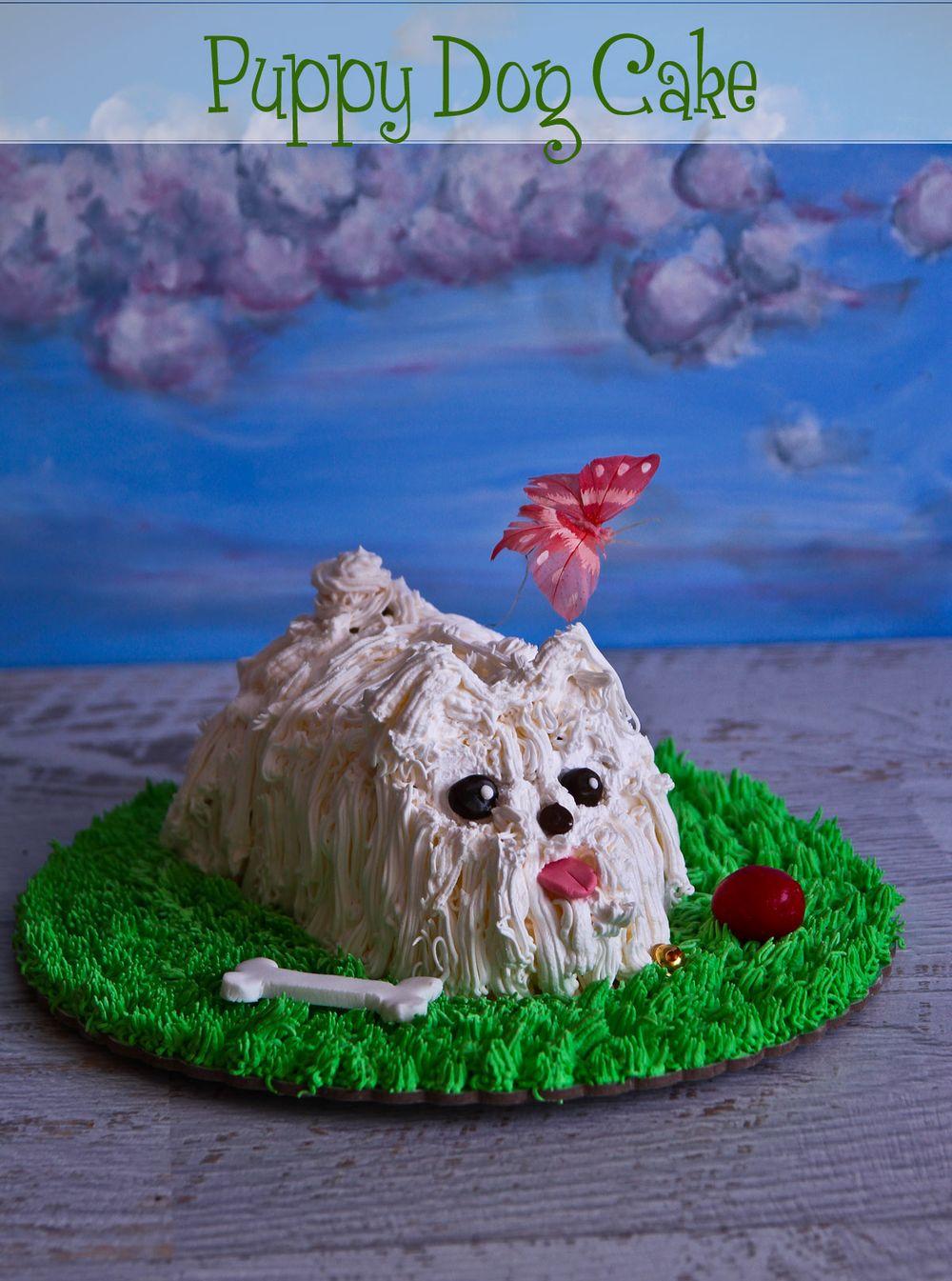 Puppy Dog Cake Not Quite Nigella