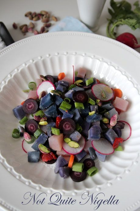 Purple Potato Salad