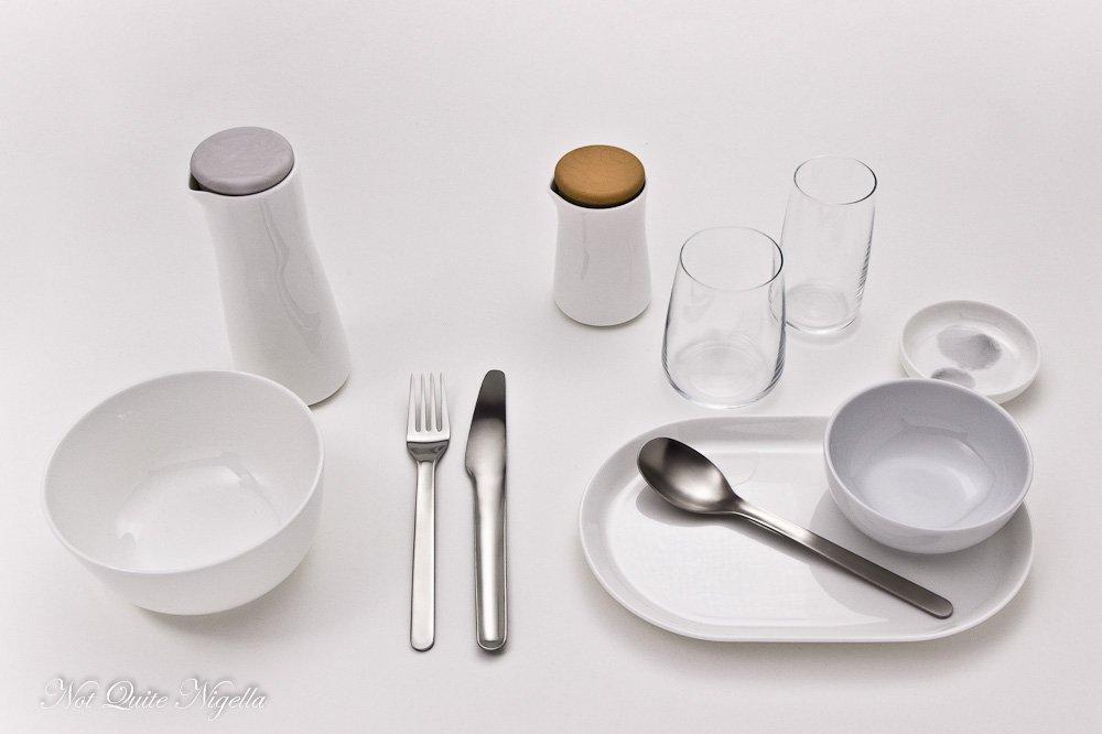 Qantas New Tableware David Caon