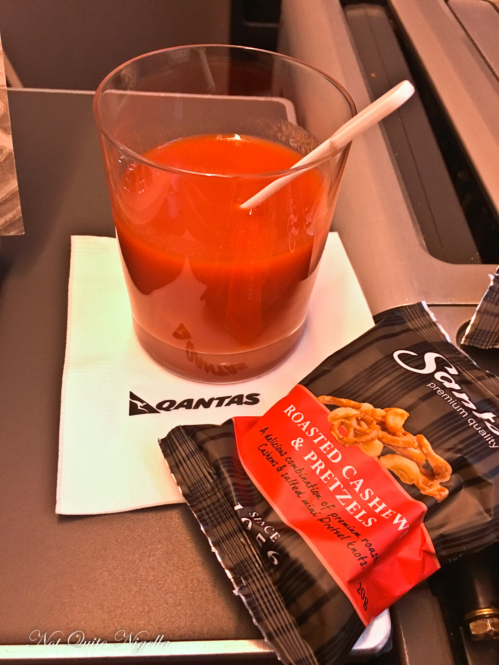 Qantas QF28 Flight Review