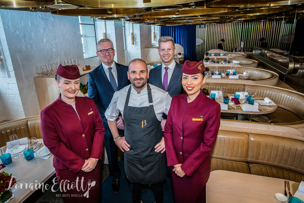 Qatar Airways George Calombaris new menu