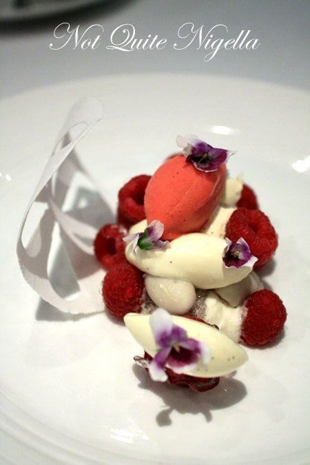 quay restaurant raspberry vanilla
