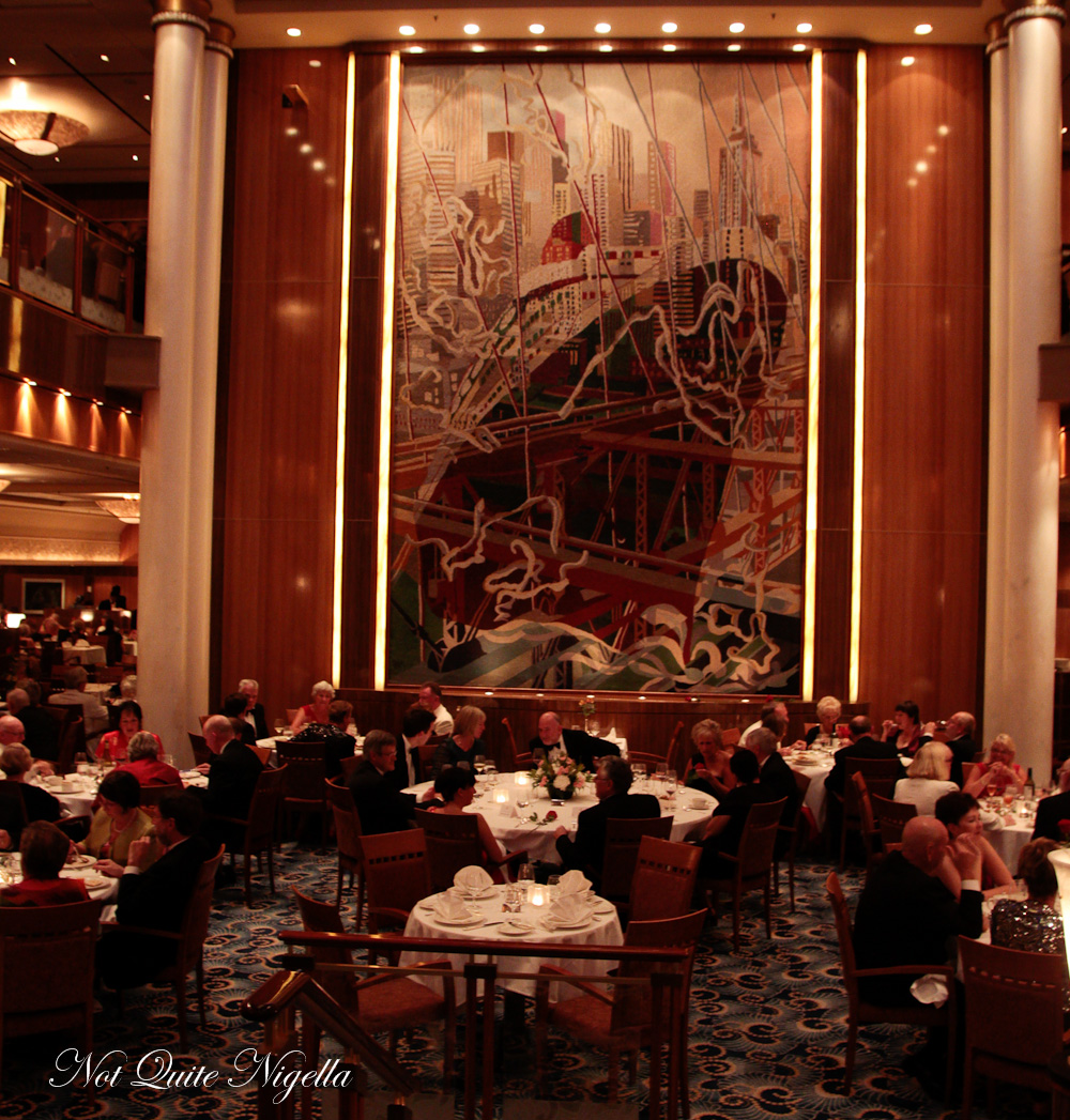 A Voyage On The Queen Mary 2 Not Quite Nigella