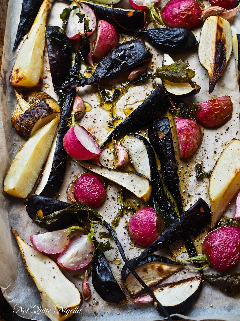 Roasted Radishes Radish Recipe