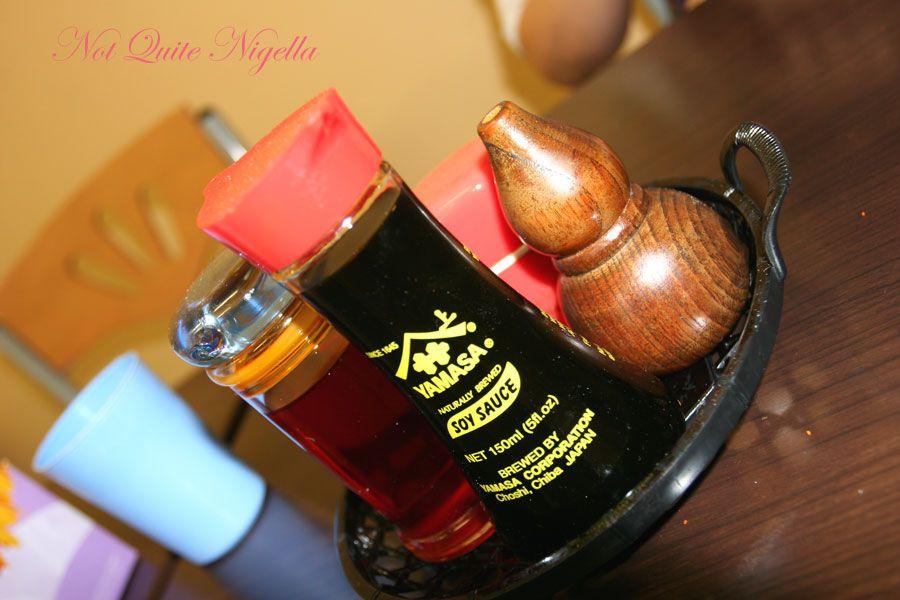 Rahmen Genki Artarmon condiments