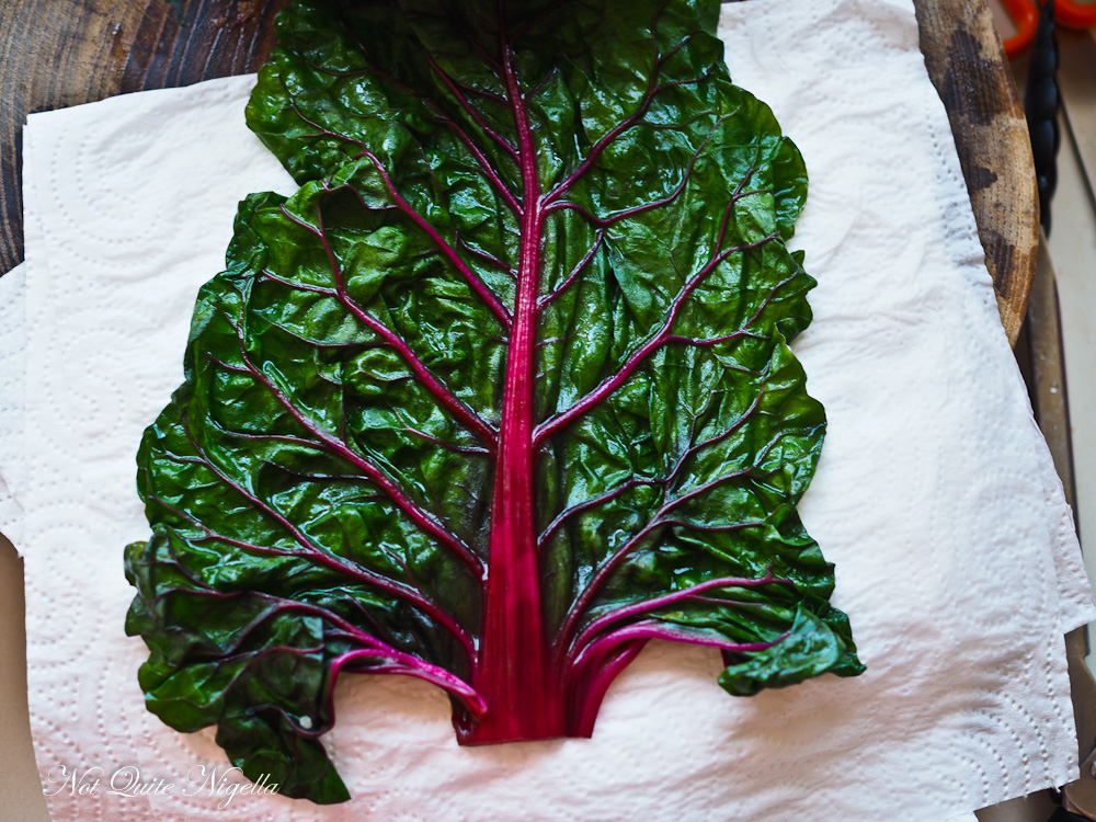 Rainbow Chard Wrap Recipe