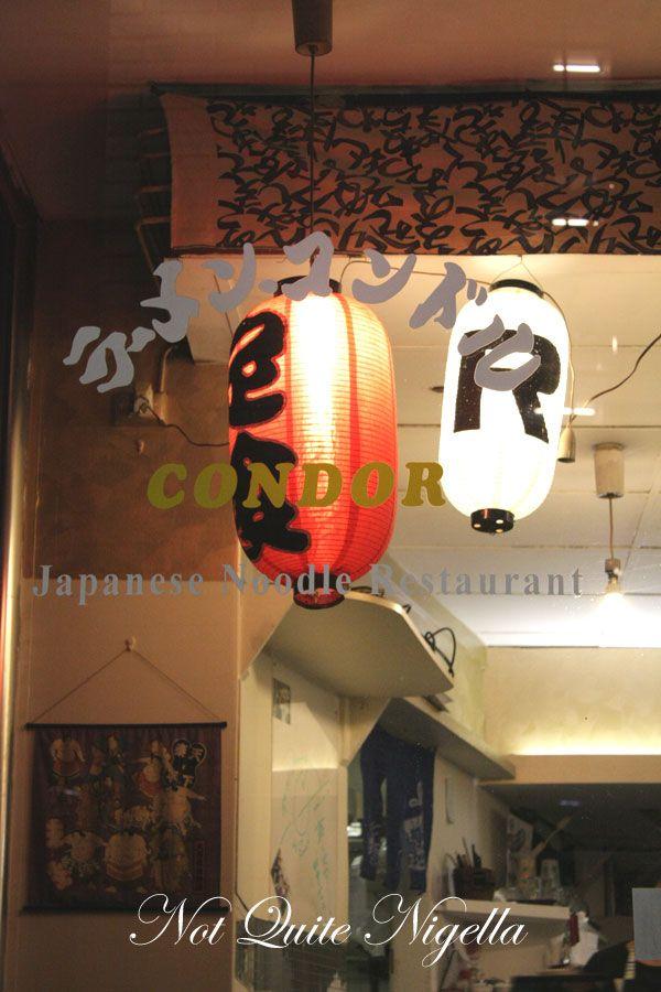 Ramen Condor, Wynyard, Sydney CBD