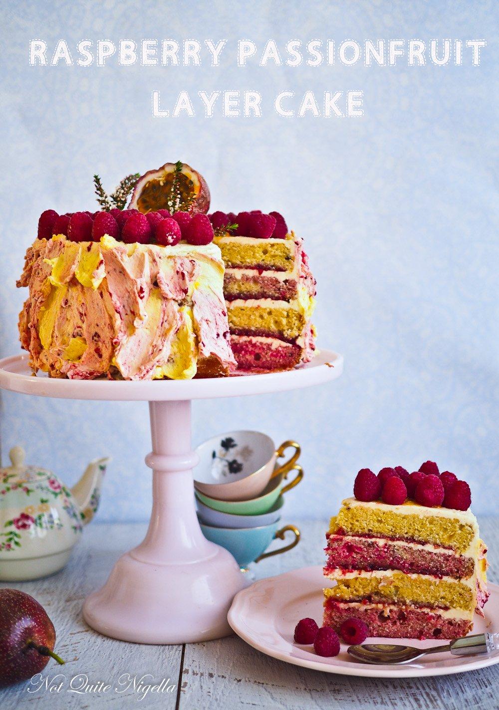 Nigella Passion Fruit Ice Cake