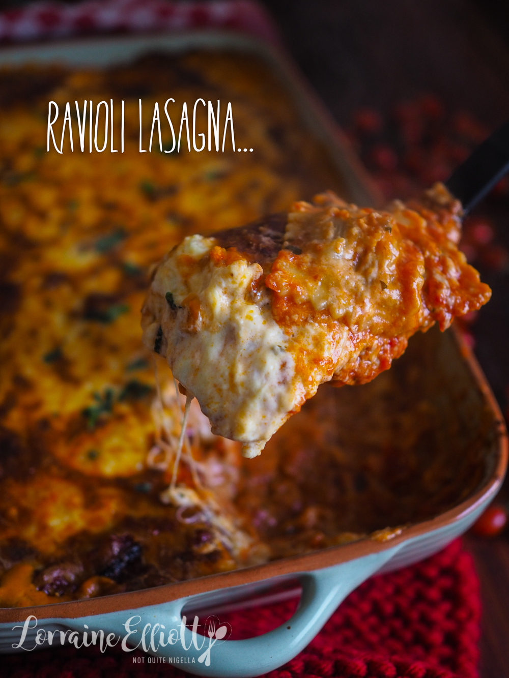 Ravioli Lasagna Lasagne