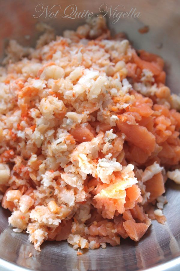 Ravioli with Smoked Salmon and Prawn - trying another Gordon Ramsay dish...