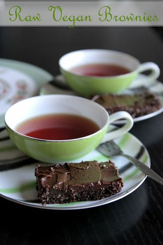 raw chocolate brownies