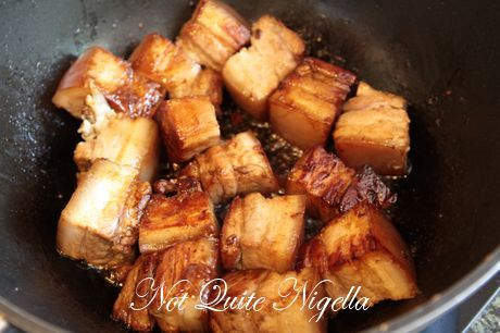 red cooked pork belly