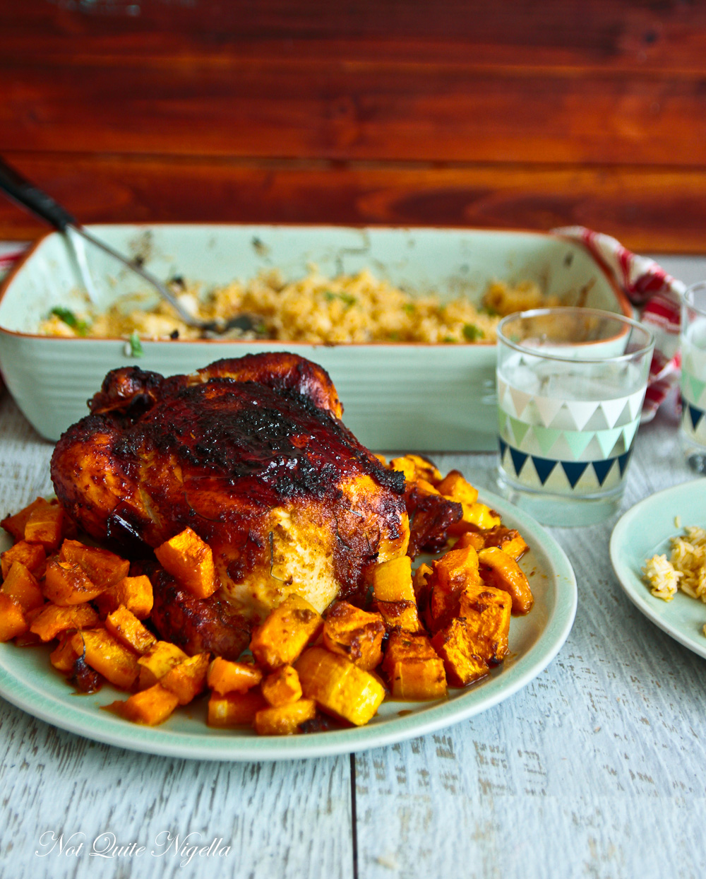 Red Curry Roast Chicken Recipe