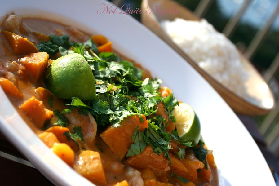 Red Prawn and Mango Curry from Nigella Express