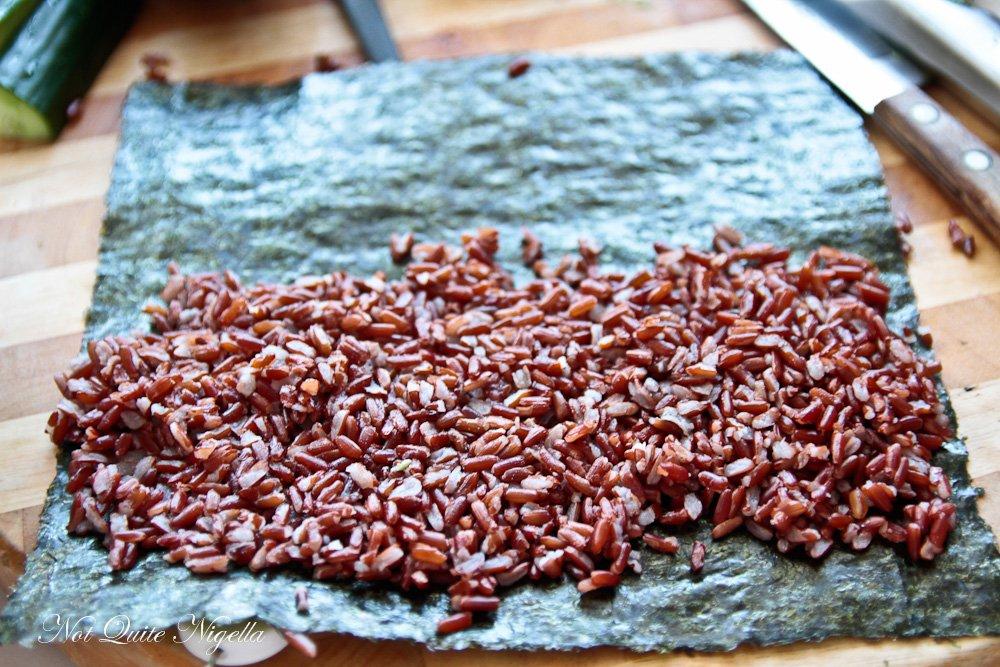 Red Rice Sushi