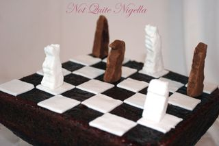 Red Velvet chess cake