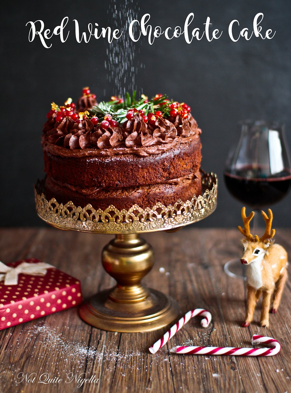 Red Wine Chocolate Cake Recipe Not Quite Nigella