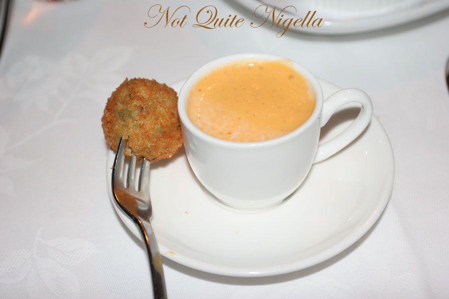 Restaurant Balzac at Randwick Amuse Bouche