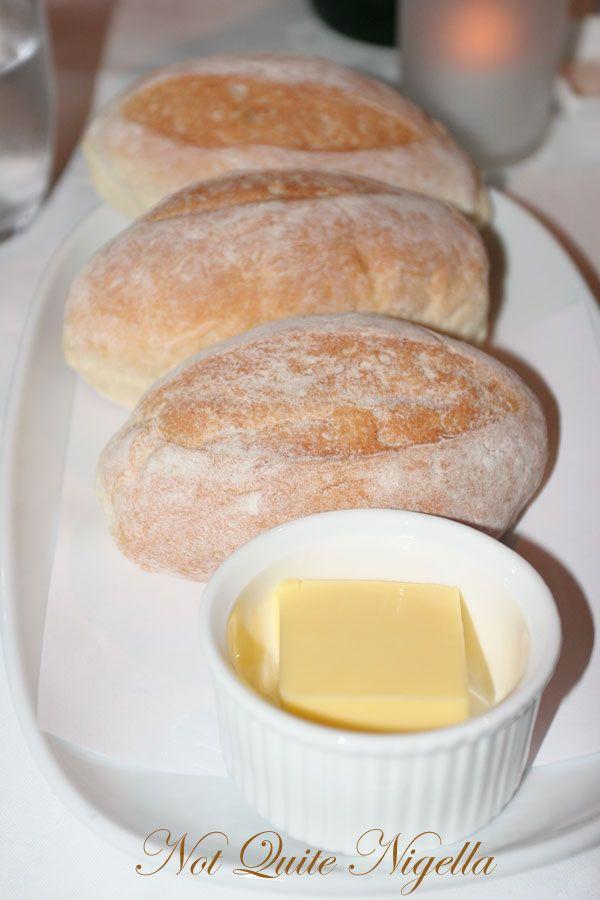 Restaurant Balzac at Randwick bread
