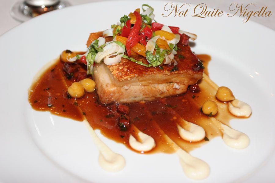 Restaurant Balzac at Randwick confit pork