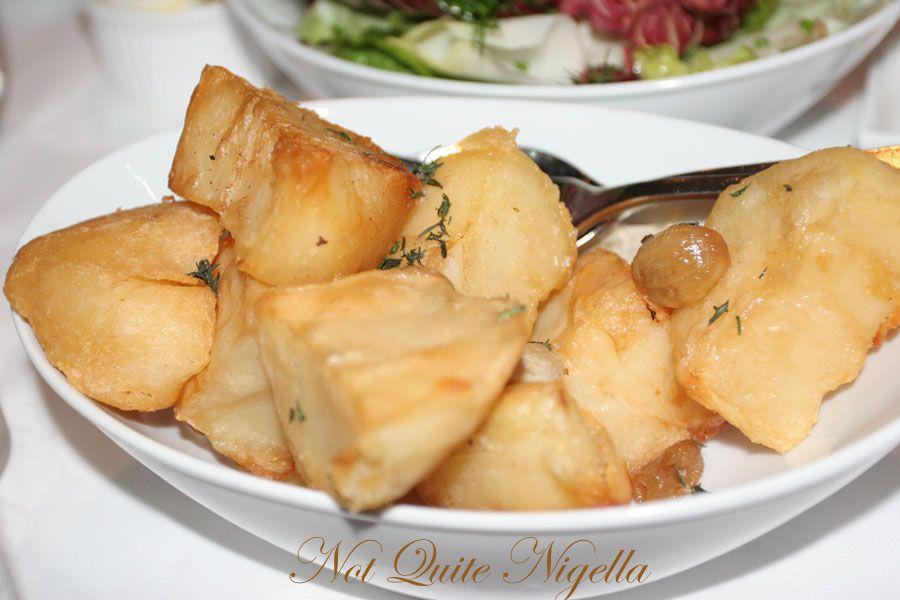 Restaurant Balzac at Randwick Potato
