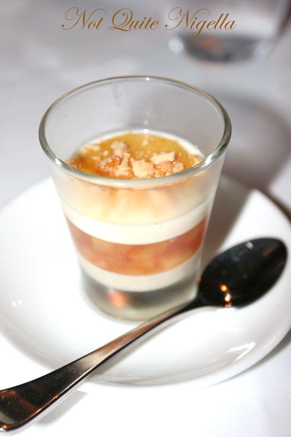 Restaurant Balzac at Randwick pre dessert