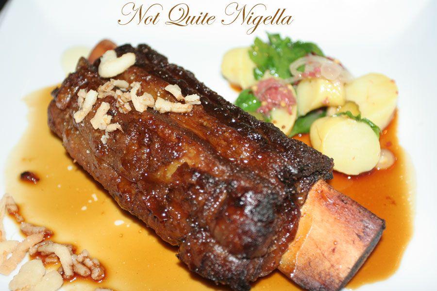 Restaurant Balzac at Randwick Short rib