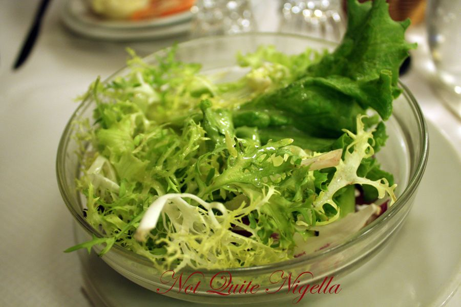 Chartier Paris green salad
