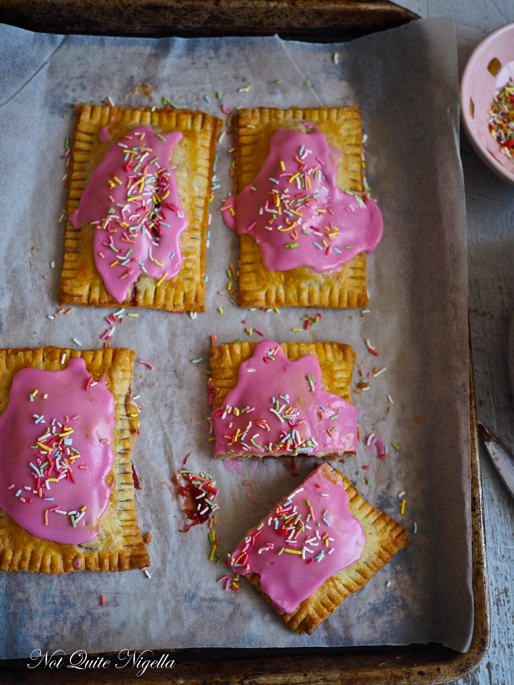 Home Made Pop Tarts From Scratch