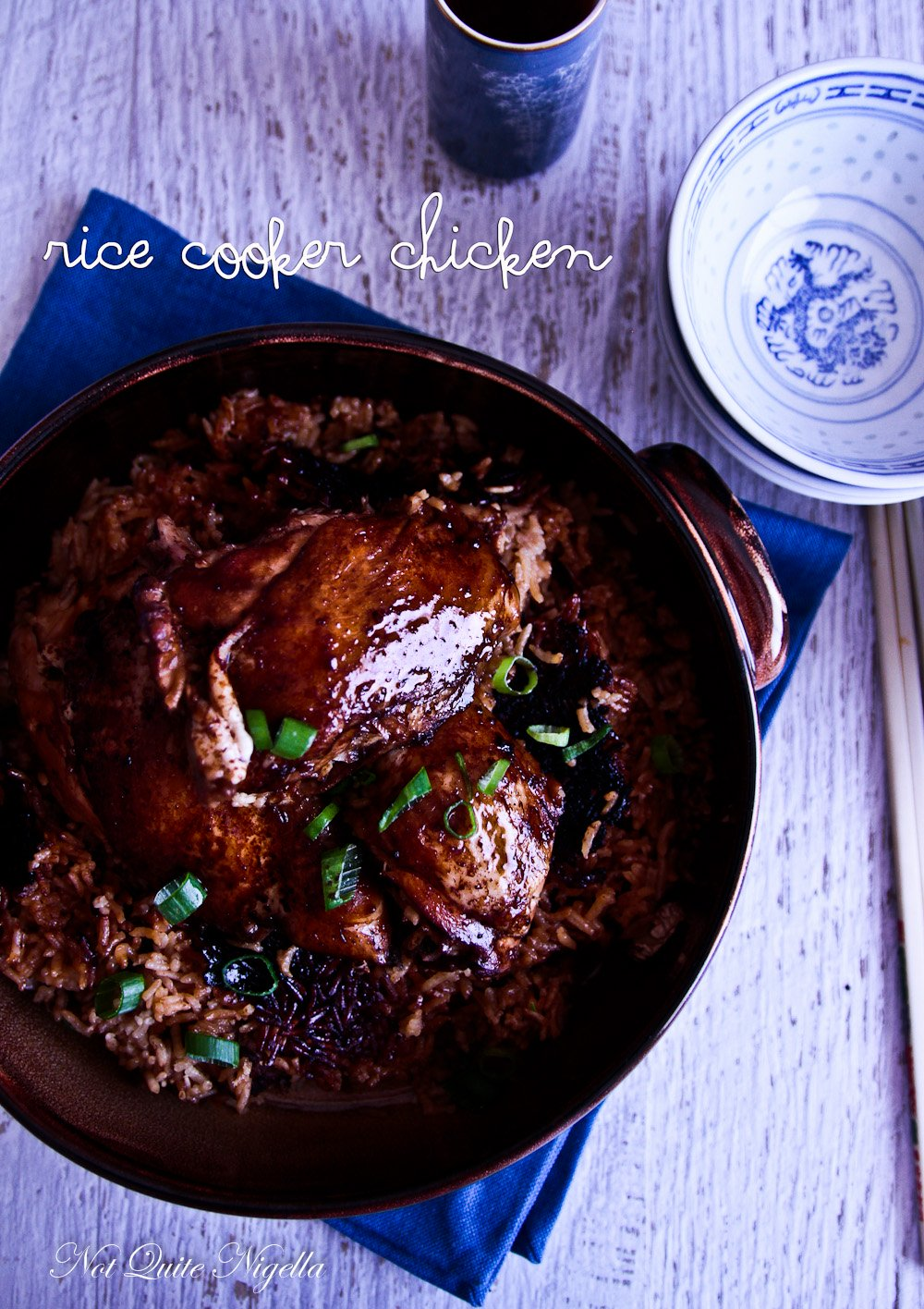 Easy Chicken In A Rice Cooker Not Quite Nigella