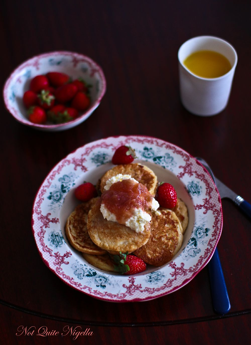 rice pudding pancakes