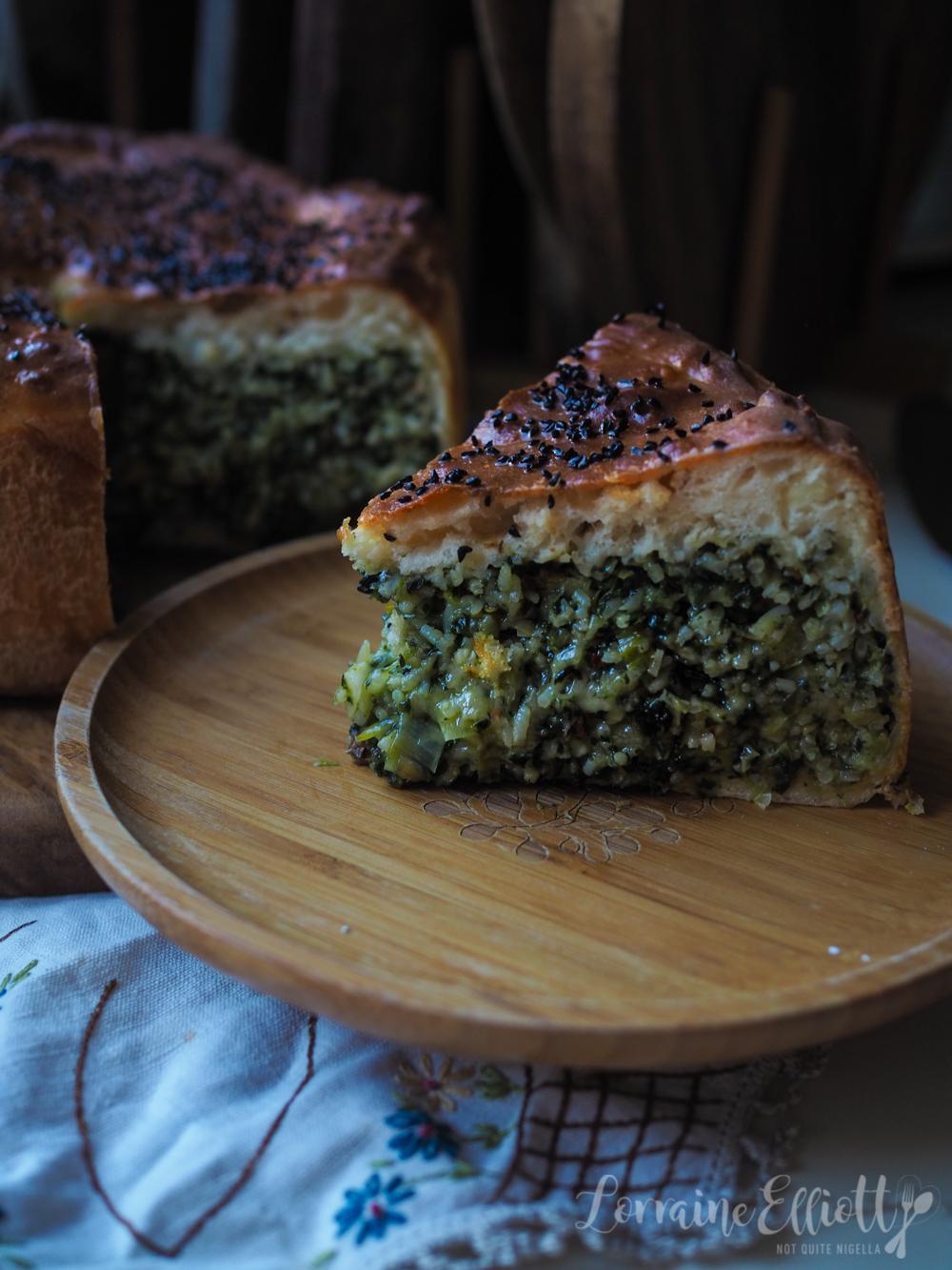 Rice & Spinach Pie