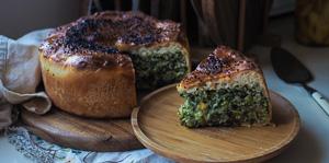 AMAZING Rice, Leek & Spinach Pie!