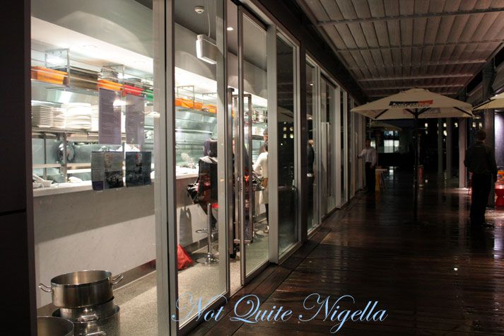 Ripples, Sydney Wharf, Pyrmont for a Chef's Table experience