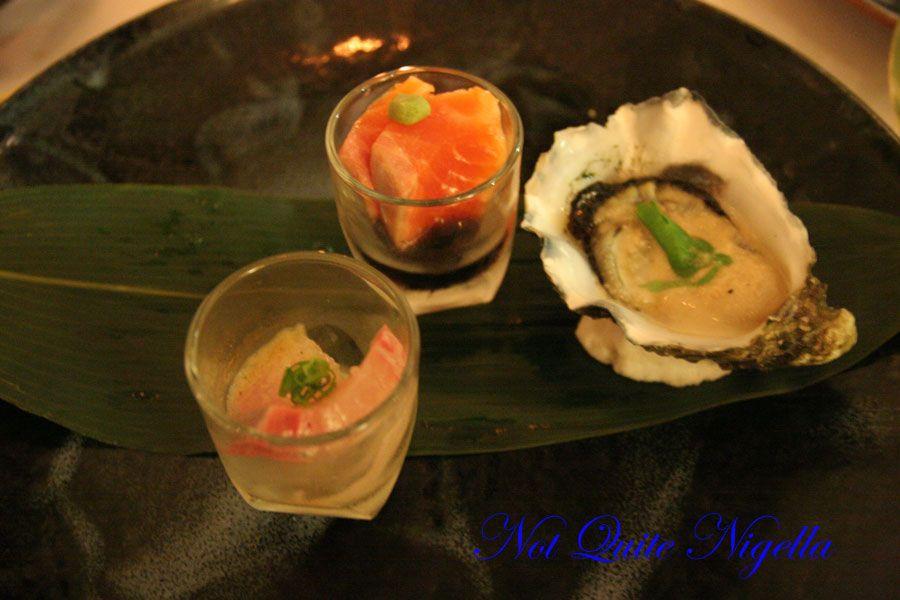 Rise at Darlinghurst Course 3 sashimi