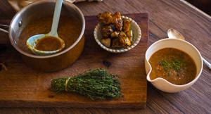 Simple Sweet Roasted Fennel & Leek Soup With Jerusalem Artichokes