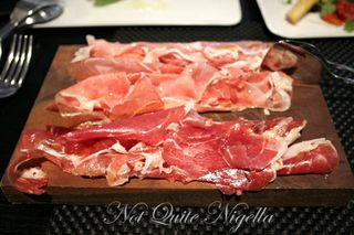 rockpool bar and grill jamon plate
