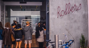 Rolling and Eating at Rollers Bakehouse, Manly