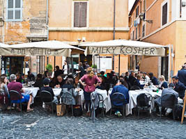 Rome's Fascinating Jewish Quarter & Its Cuisine!
