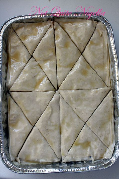 Rose & Pistachio Browned Butter Baklava & A Persian Feast for the New Year