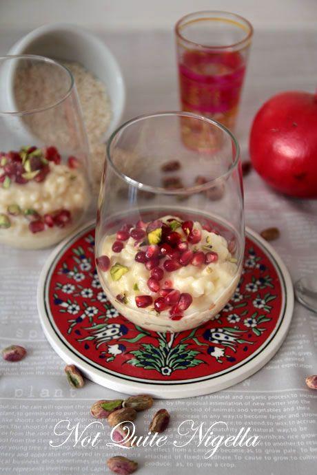 moroccan rice pudding