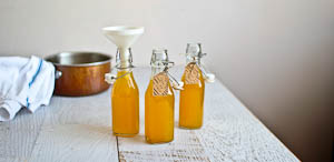 Rose Hip Syrup and A Home Spun Cold Remedy!