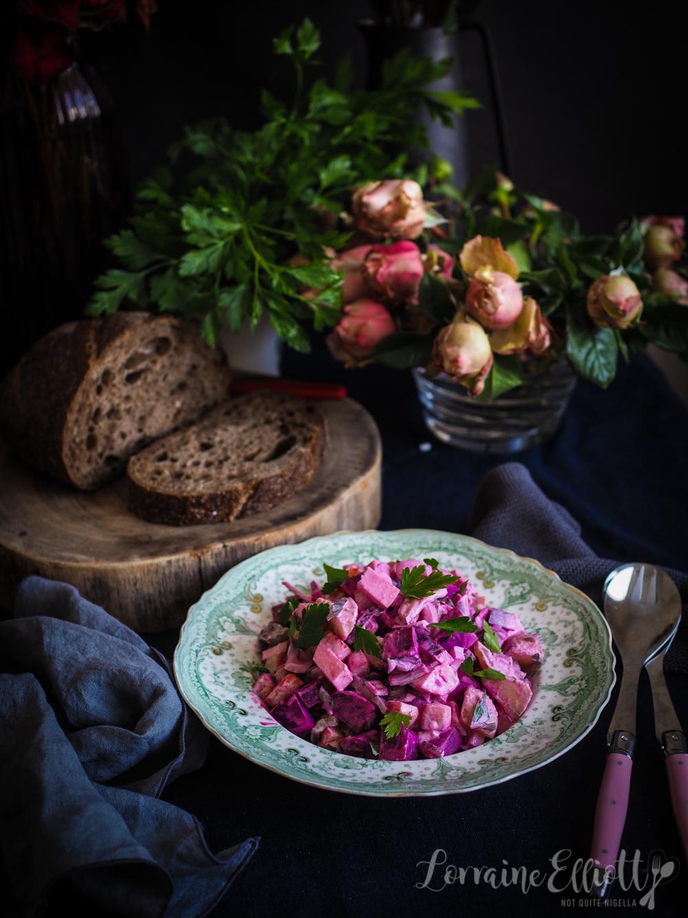 Finnish Rosolli Beetroot Salad
