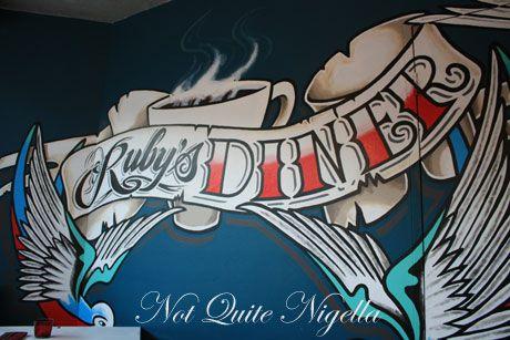 rubys diner waverley sign