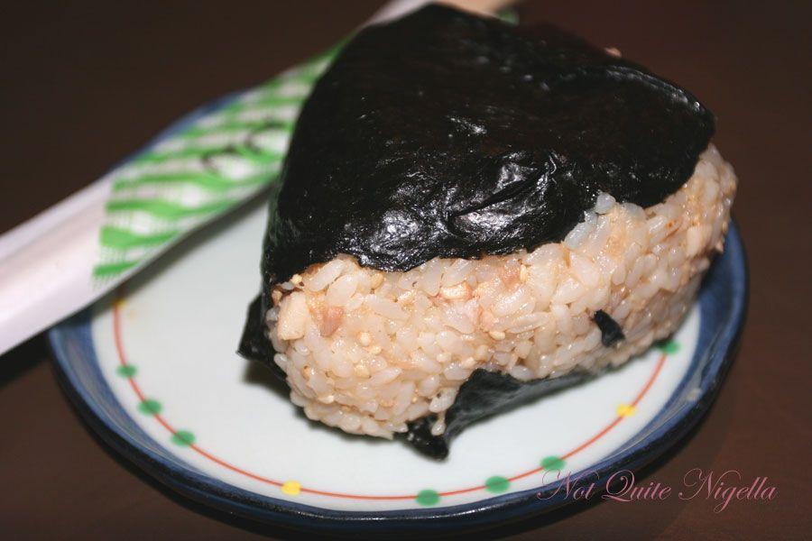 Roast pork rice Ball