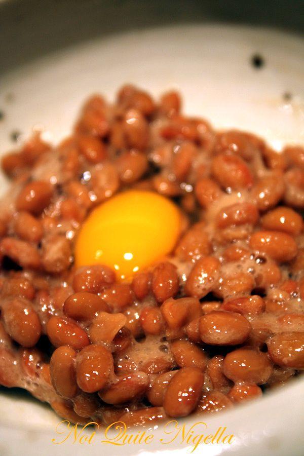 Sakata Udon Yurakucho Tokyo Natto